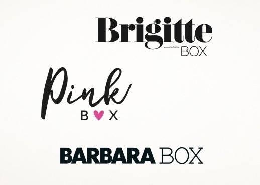 BARBARA BOX BRIGITTE BOX Pink Box