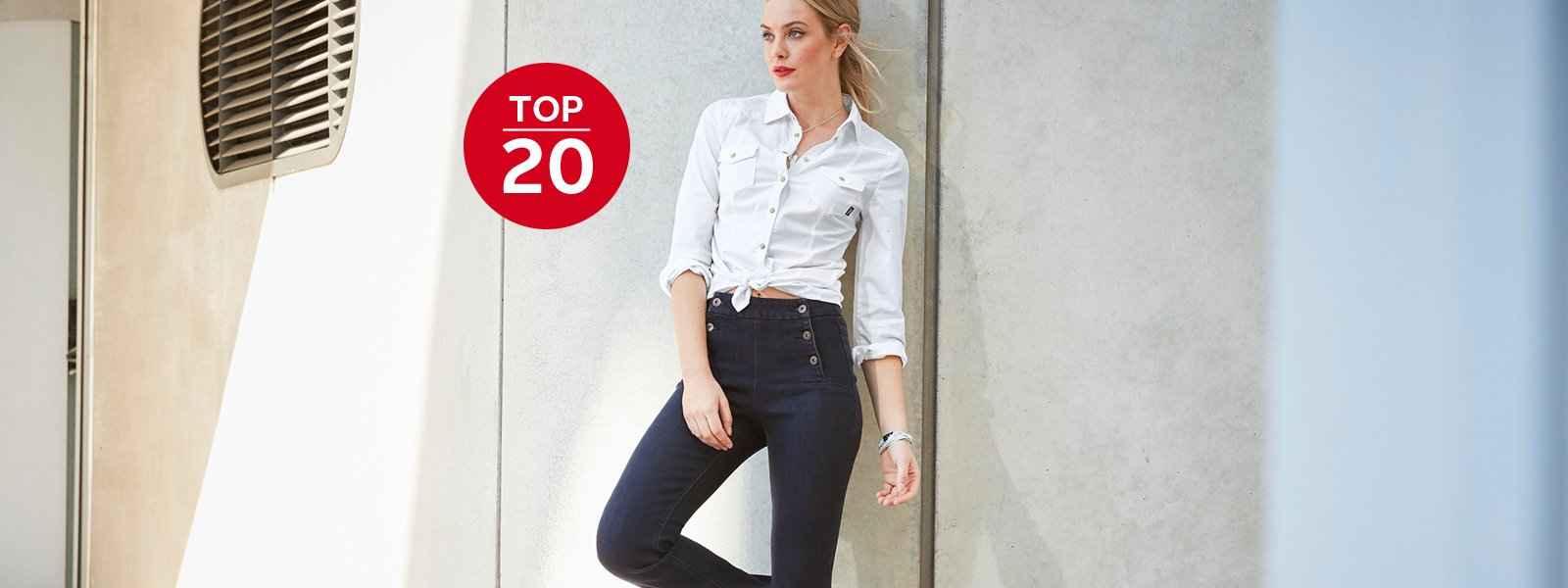 20 Damen Jeans