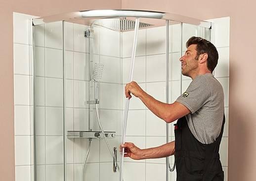 Duschkabine einbauen