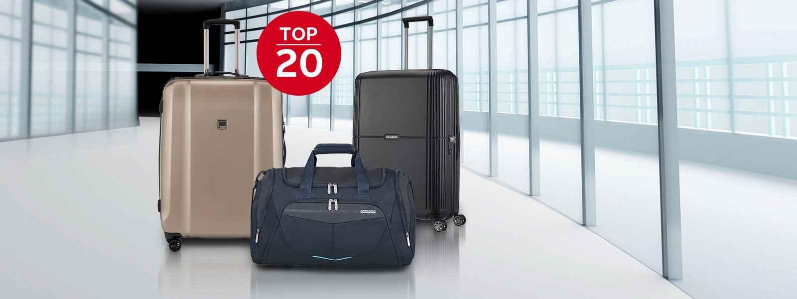 Top 20 Reisegepäck