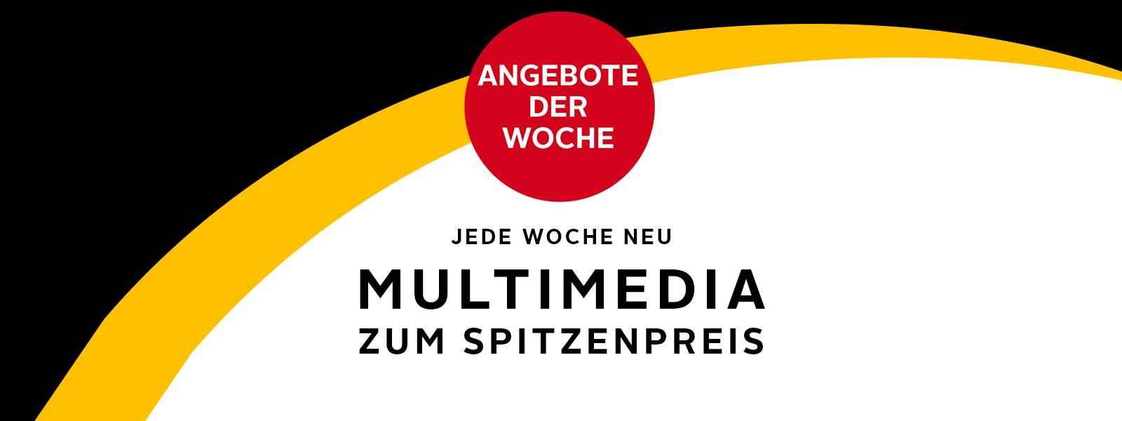 Multimedia Angebote der Woche