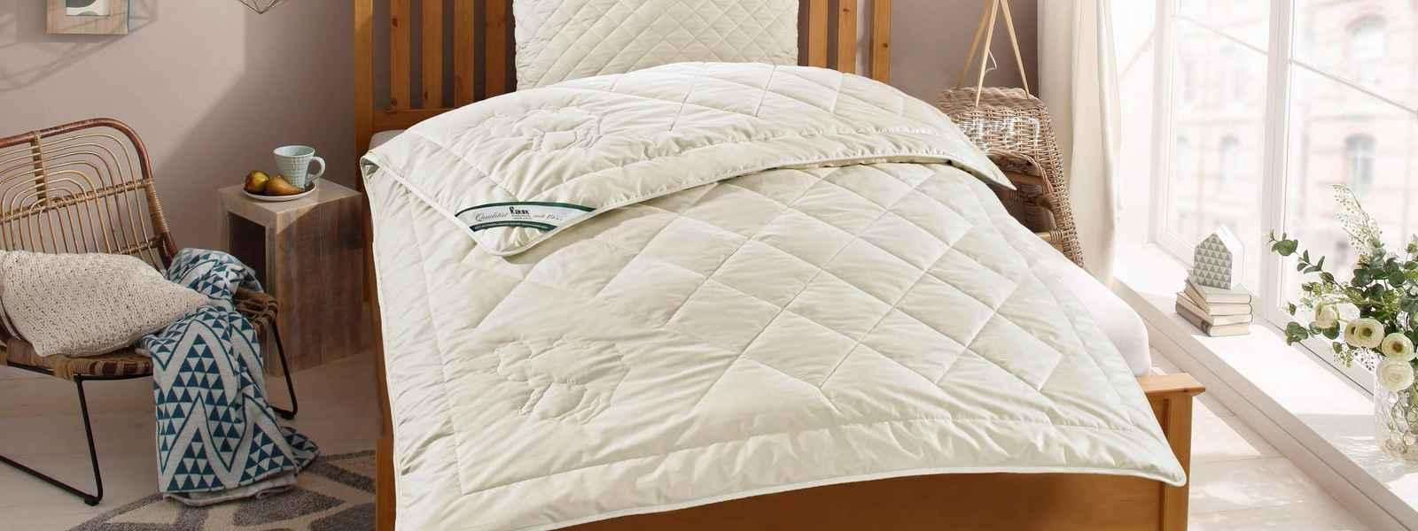 Lagerräumung Bettdecken