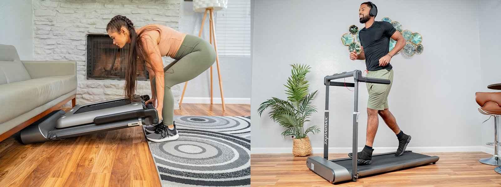 Platzsparende Fitnessgeräte