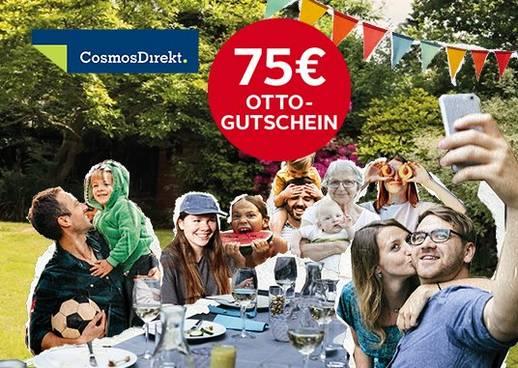 Shopping&more OTTO Finanz Plus CosmosDirekt Risikolebensversicherung 75 OTTO Gutscheine
