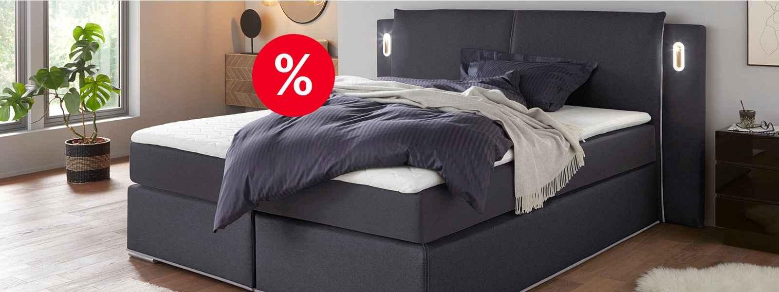 % Betten