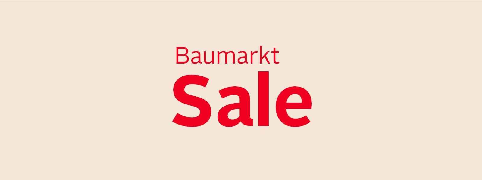Baumarkt SALE