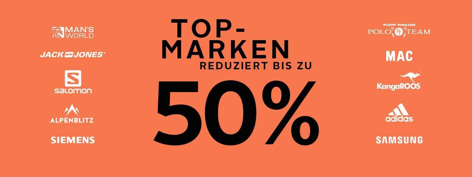 Top Marken reduziert