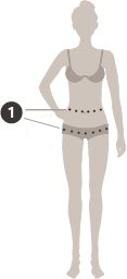 Damen Gürtel