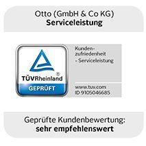 TÜV-Auszeichnung Serviceleistungen