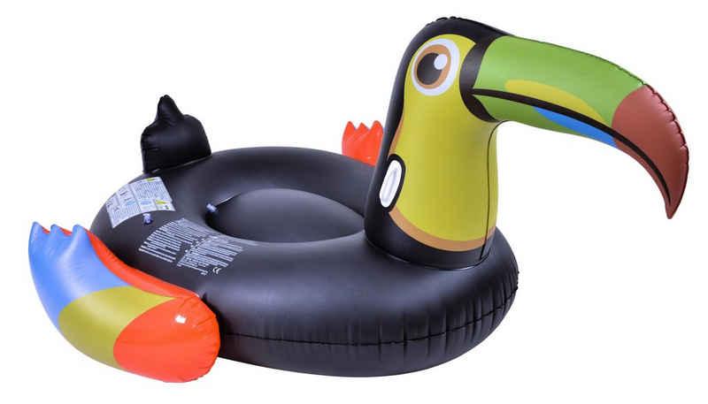 SunClub Schwimmtier »Aufblasbarer Tukan, Wassertier«, 128x104x60cm