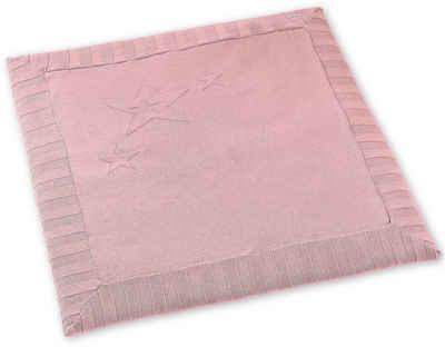 Krabbeldecke »Sterne, rosa«, Sterntaler®
