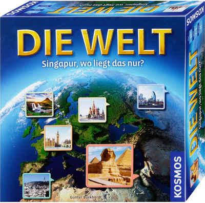 Kosmos Spiel, Geografie-Spiel »Die Welt - Singapur, wo liegt das nur?«, Made in Germany