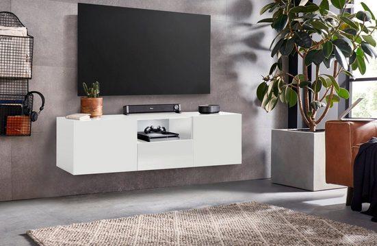 borchardt Möbel Lowboard »Sophia«, Breite 139 cm mit 1 Schubkasten, stehend und hängend