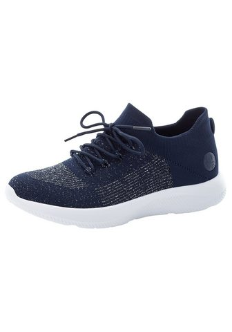 Rieker Slip-On Sneaker in Strickoptik