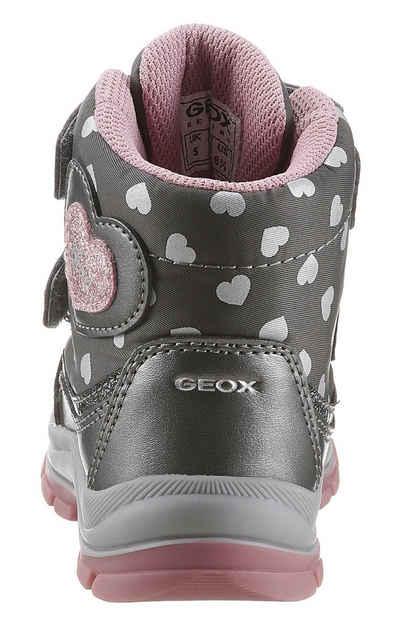 Geox Kids »B Flanfil Girl« Klettstiefel mit TEX-Ausstattung