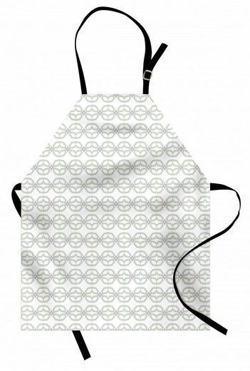 Abakuhaus Kochschürze »Höhenverstellbar Klare Farben ohne verblassen«, Abstrakt Chain Design Motive Kunst