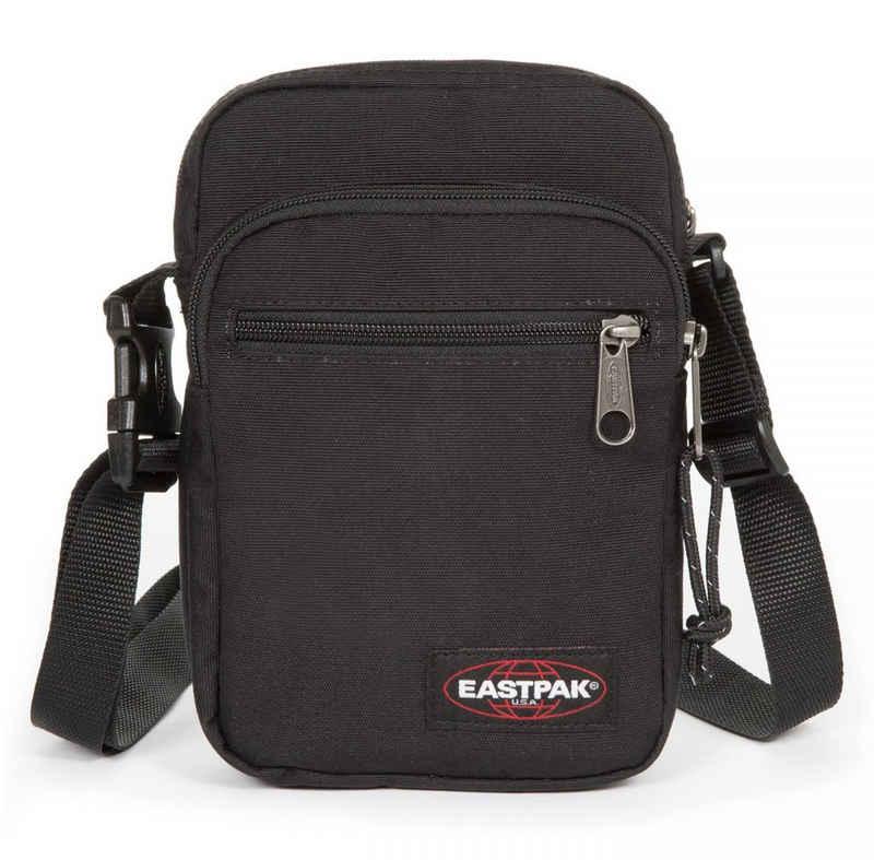 Eastpak Umhängetasche »DOUBLE ONE, Black«, auch als Bauchtragetasche verwendbar, enthält recyceltes Material (Global Recycled Standard)