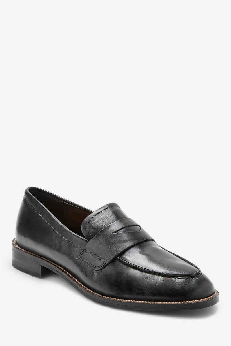 Next »Lederloafer mit mandelförmiger Zehenpartie« Loafer (1-tlg)