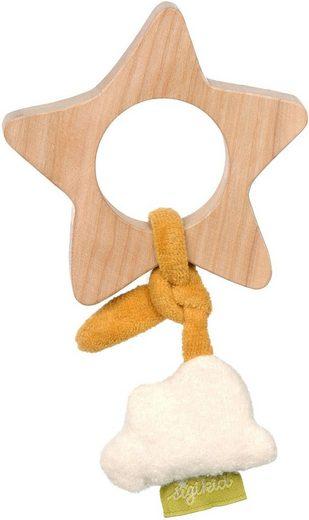 Sigikid Greifling »Green Collection, Holzgreifling Stern«, FSC®-Holz aus gewissenhaft bewirtschafteten Wäldern; Made in Europe