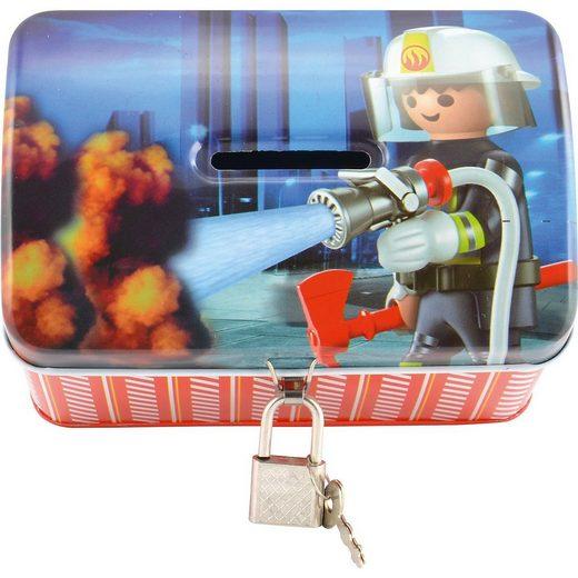 United Labels® Spardose »Spardose Playmobil Feuerwehr«