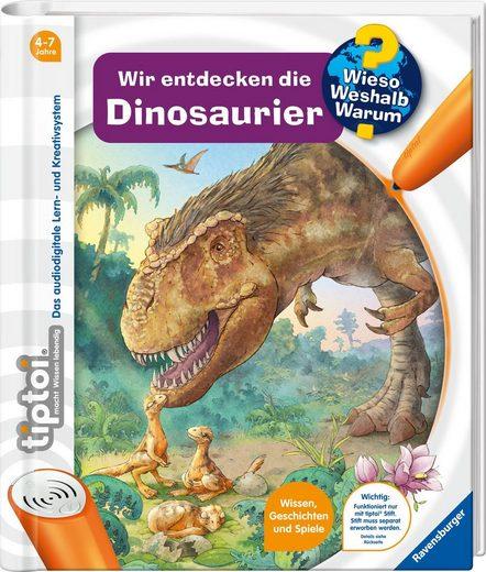 Ravensburger Buch »tiptoi® Wir entdecken die Dinosaurier«, FSC® - schützt Wald - weltweit; Made in Europe
