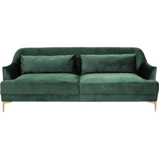 KARE Sofa »Sofa Proud 3Sitzer Grün«