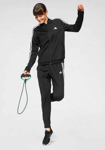 adidas Performance Trainingsanzug »WOMEN ESSENTIALS 3-STRIPES TRACKSUIT« (Set, 2-tlg)
