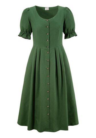 Naber Collection Tautinio stiliaus suknelė su luftigen ...