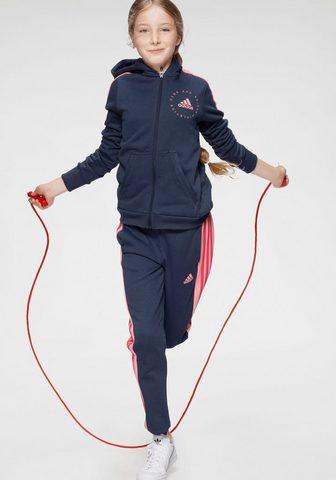 adidas Performance Jogginganzug »JOUNG GIRL HOOD COTTON T...