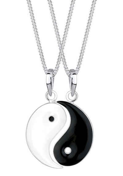 Elli Ketten-Set »Elli Halskette Partnerketten Yin und Yang, 0104961112« (Set, 4-tlg)