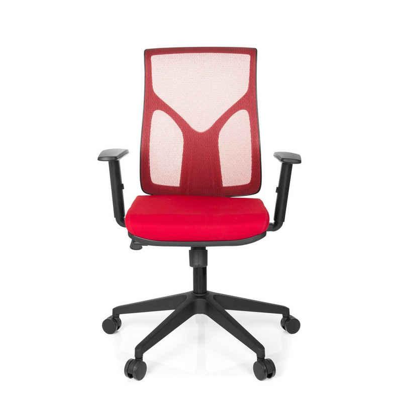 hjh OFFICE Drehstuhl »Home Office Bürostuhl TURAN Stoff/Netzstoff«