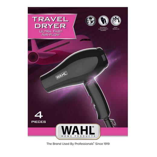 Wahl Haartrockner Wahl 3402-0470 Travel Dryer Reisehaartrockner mit Diffusor, 1 W