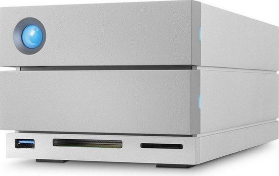 """LaCie 2big Dock Thunderbolt 3, 28 TB »3.5"""", Thunderbolt 3, USB-C + Card Reader«"""