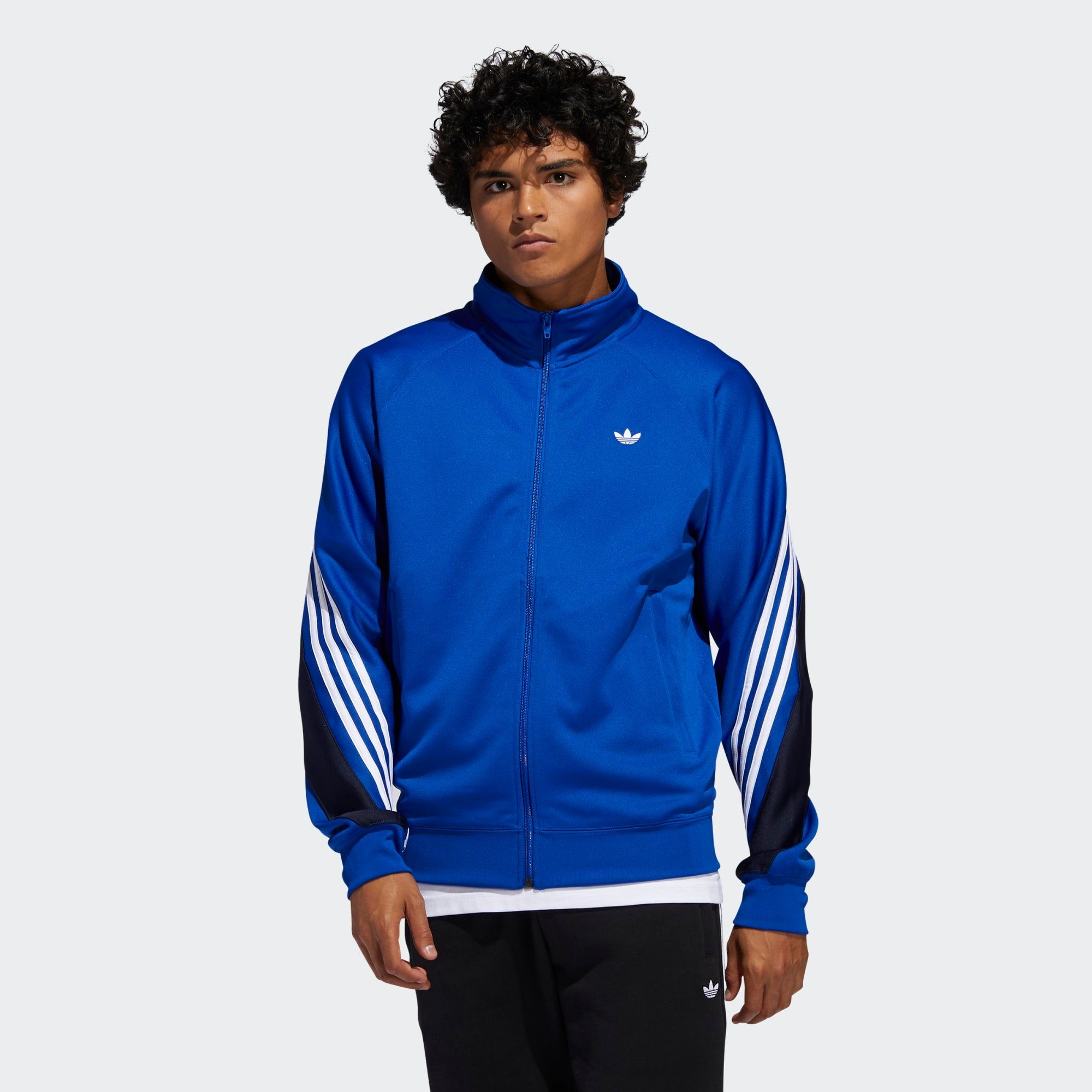adidas Originals Sweatjacke 3-Streifen Wrap Originals Jacke