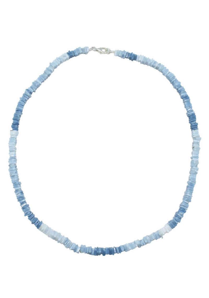 Firetti Collier »Modern, 4 mm breit, Blautöne«, mit Opal, Made in Germany