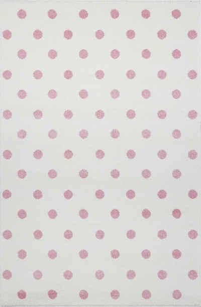 Kinderteppich »Circle«, Kids Love Rugs, rechteckig, Höhe 16 mm, weicher Flor