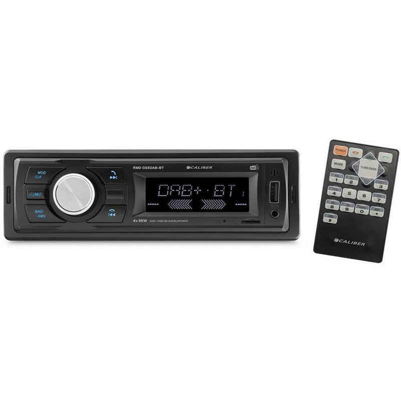 Caliber »Audio Technology RMD033DAB-BT Autoradio DAB+ Tuner, Bluetooth®-Freisprecheinrichtung, inkl. Fernbedienung,« Autoradio