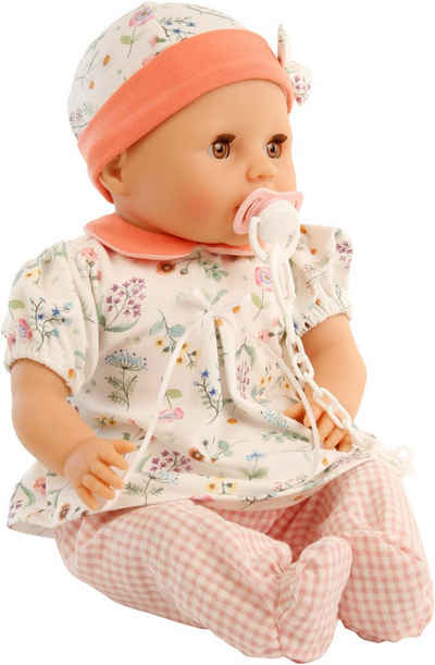 Schildkröt Manufaktur Babypuppe »Schnullerbaby Amy, rosé/weiß«, Made in Germany