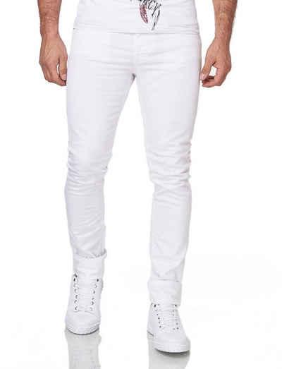 KINGZ Slim-fit-Jeans mit perfektem Sitz