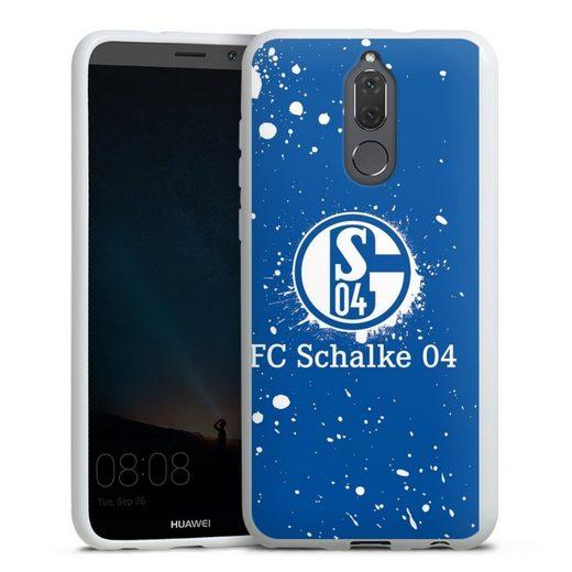 DeinDesign Handyhülle »Schalke 04 - Spraylogo« Huawei Mate 10 lite, Hülle FC Schalke 04 S04 Offizielles Lizenzprodukt