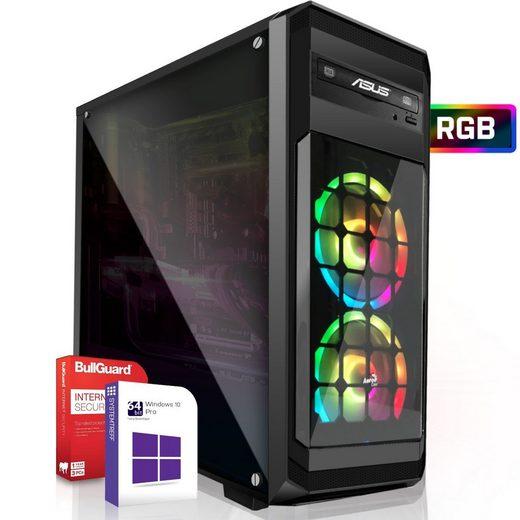 SYSTEMTREFF Pro Gaming Edition 90320 Gaming-PC (Intel Intel Core i3 8300 Core i3 8300, Nvidia Geforce GTX 1650 4 GB, 8 GB RAM, 256 GB SSD)
