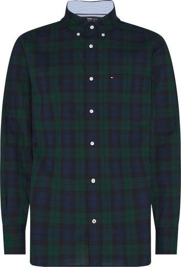 TOMMY HILFIGER Langarmhemd »FLEX BLACK WATCH CHECK SHIRT«