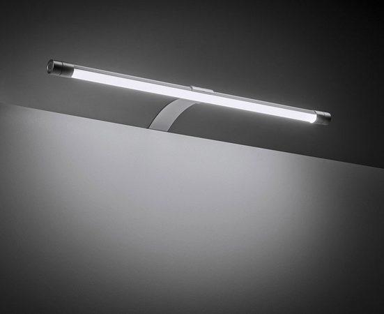 Yu Yang Aufbauleuchte »Dorina 400 K/W«, 400mm, Farbwechsel, Warmweiß, Kaltweiß, Alu-Optik, LED, Komplettset, mit Trafo