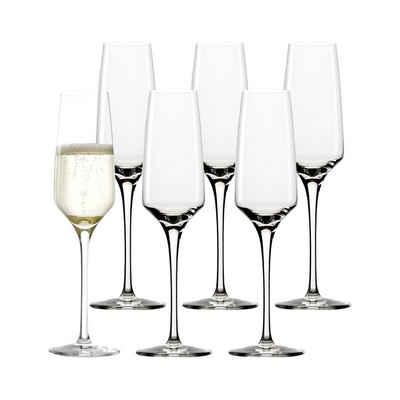 Stölzle Gläser-Set »EXPERIENCE Sektkelch Champagnerglas 190 ml 6er Set«, Glas