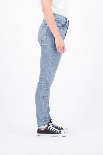Garcia Tapered-fit-Jeans mit destroyed Details