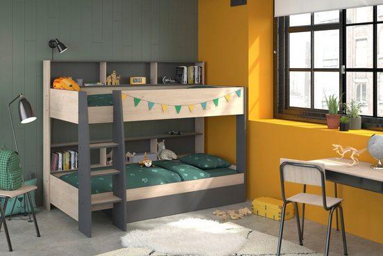 Parisot Etagenbett »Tam Tam« (2-St), mit Bettschubkasten