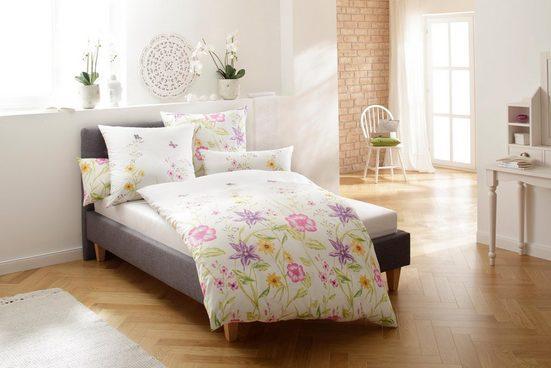 Bettwäsche »Sarina«, Home affaire, mit schönen Blumen