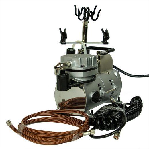 Airbrush-City Airbrush-Kompressor »Airbrush Kompressor Saturn 25 mit Druckminderer«