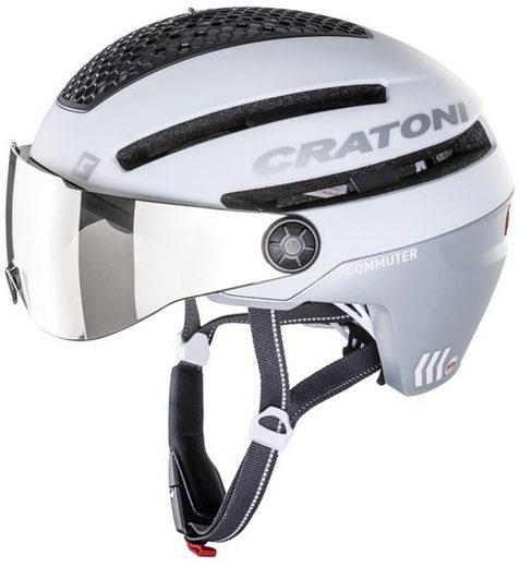 Cratoni Fahrradhelm »Pedelec-Helm Commuter«, eingebautes Rücklicht, Reflektoren