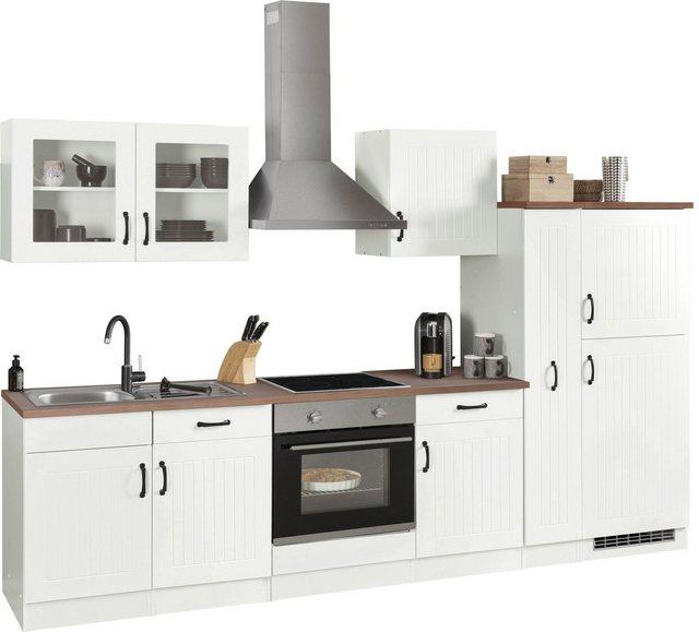 Einbauküchen - HELD MÖBEL Küchenzeile »Athen«, mit E Geräten, Breite 270 cm  - Onlineshop OTTO